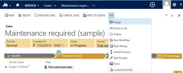 How to restore a hidden button on the CRM 2013 Command Bar
