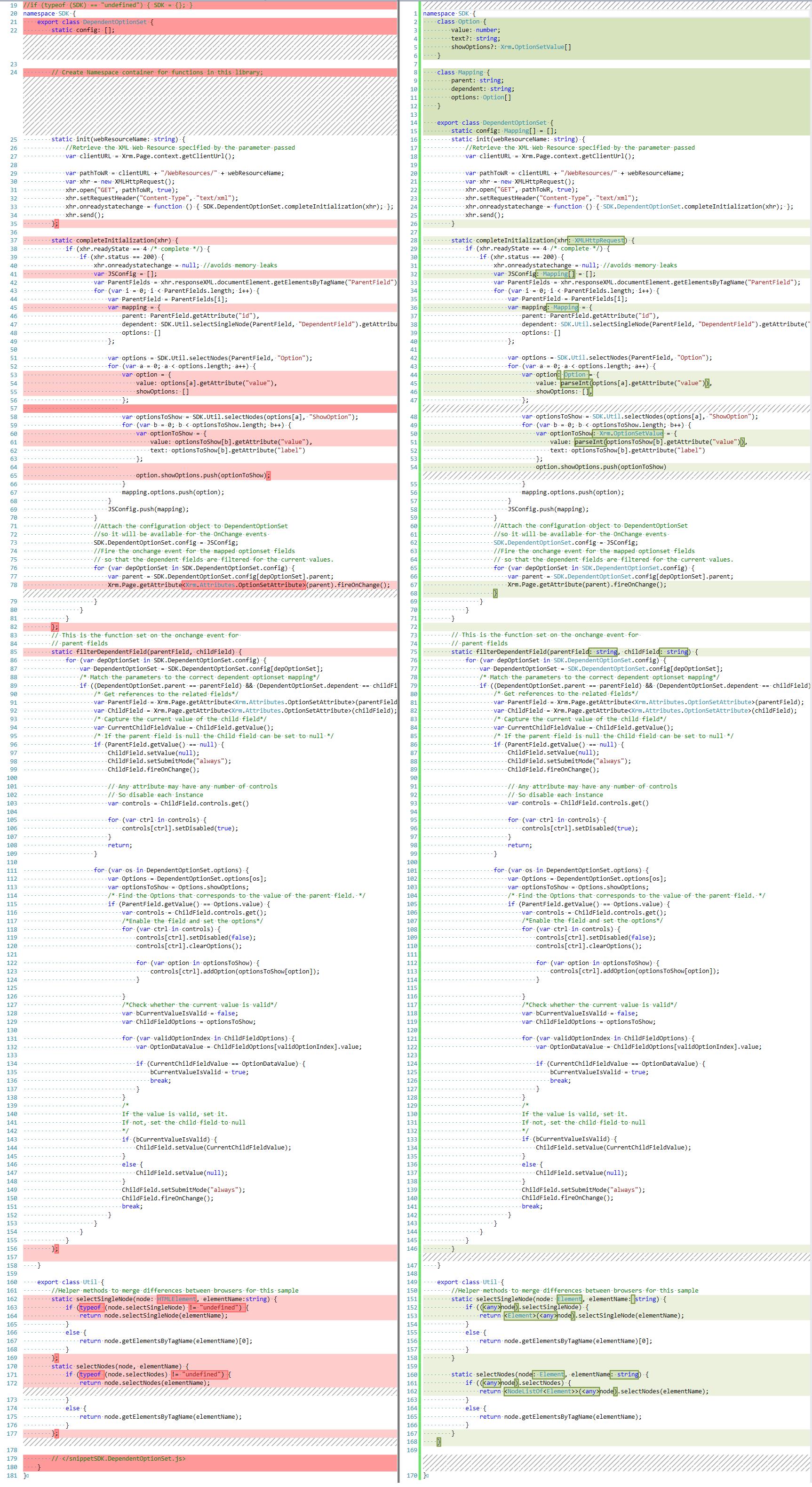Let's start TypeScript – Part 1 - Microsoft Dynamics CRM